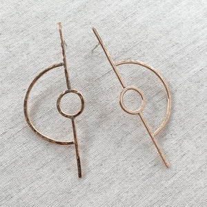 Europa Earring in Gold