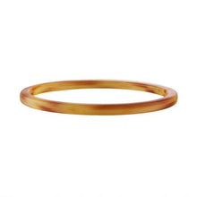 Load image into Gallery viewer, Square Bangle in Cognac