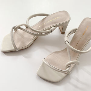 Willow Heel in Cream