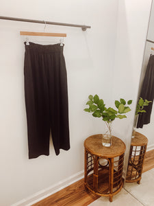 Sage Pant in Black Tencel