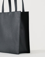 Load image into Gallery viewer, Medium Leather Retail Tote - Black