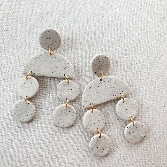 Sadie Earring in Oatmeal