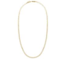 Load image into Gallery viewer, Small Curb Chain Necklace in 14k Gold