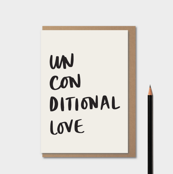 Unconditional Love card