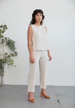 Load image into Gallery viewer, Elaina Top in Dune Cotton Gauze