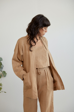 Load image into Gallery viewer, Maple Jacket in Dune Linen