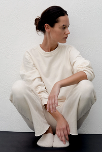 Easy Sweatpant- Natural