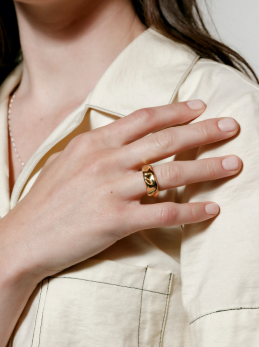 Aida Ring in Gold (PRE SALE)