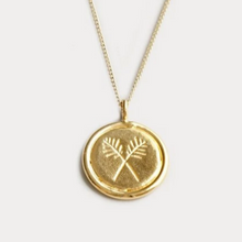 Load image into Gallery viewer, Palms Necklace in Gold