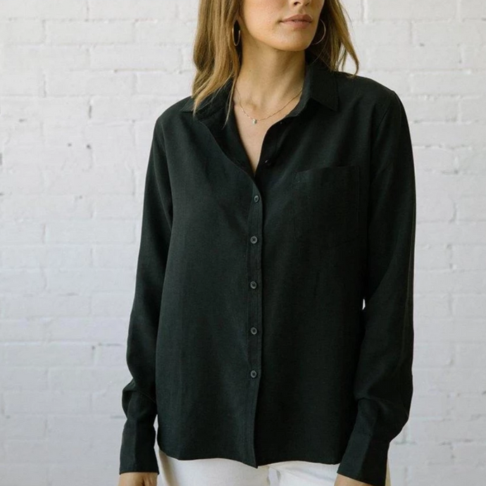 101 Martine in Black Tencel