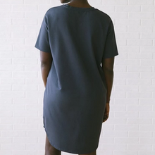 Load image into Gallery viewer, Baja T-shirt Dress in Graphite