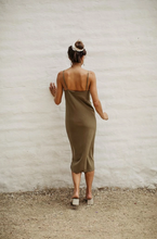 Load image into Gallery viewer, Slipdress in Silk Noil (multiple colors available)