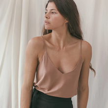 Load image into Gallery viewer, Camisole in Silk Noil (multiple colors available)