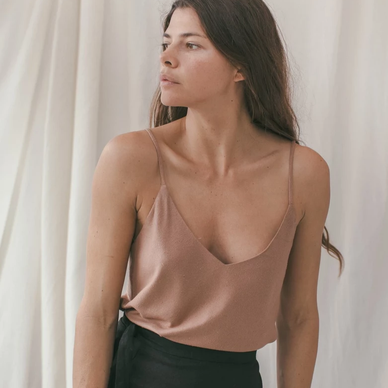 Camisole in Silk Noil (multiple colors available)