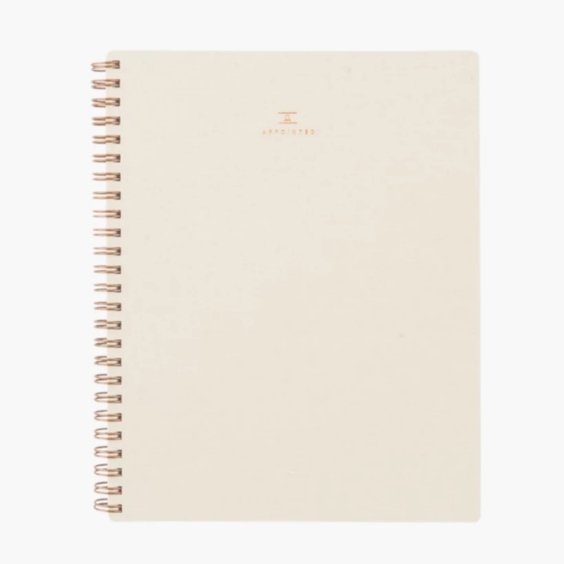 Appointed Workbook in Natural Linen