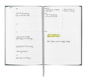 Appointed Year Task Book in Charcoal Gray
