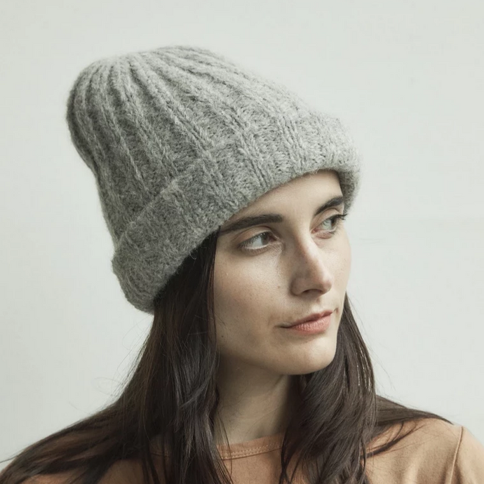 Alpaca Rib Hat (multiple colors available)
