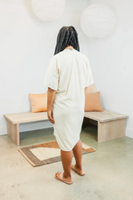 Load image into Gallery viewer, Muse Dress in Natural Silk Noil