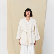 Load image into Gallery viewer, Tanaka Jacket in Natural Boiled Wool