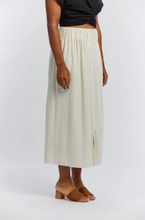 Load image into Gallery viewer, Paper Bag Skirt in Natural Silk Noil