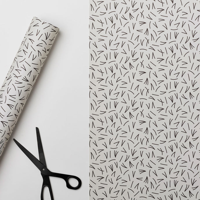 Pine Needle - Recycled Paper Gift Wrap Sheet