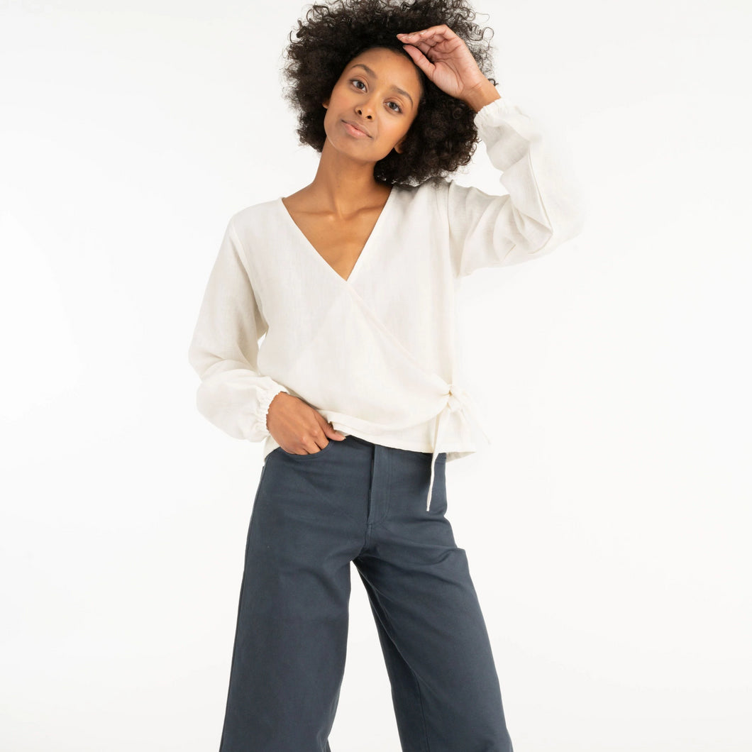 High Rise Pant in Indigo
