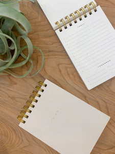 To Do Desk Pad in Nude