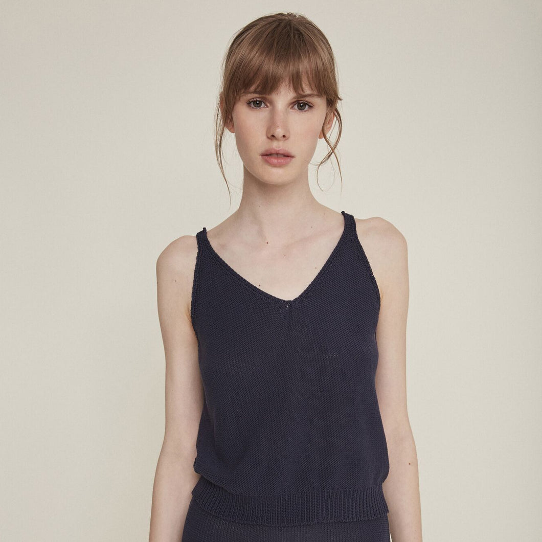 Madonna top in Navy