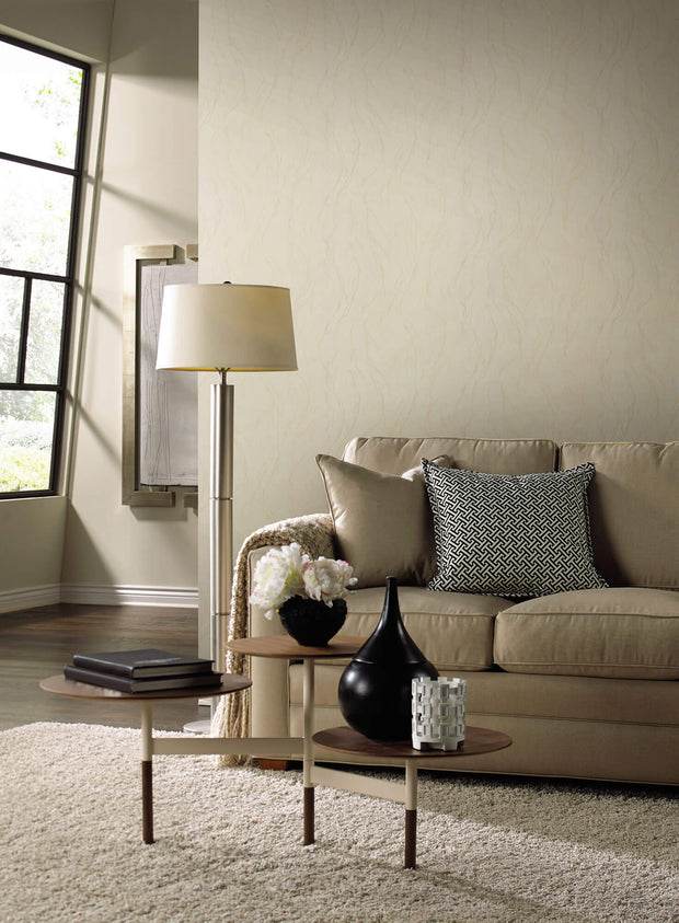 Urban Oasis Upstream Wallpaper - Cream