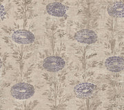 Ronald Redding French Marigold Wallpaper - Tan, Purple