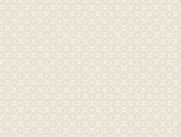 Ronald Redding Fretwork Wallpaper - Beige