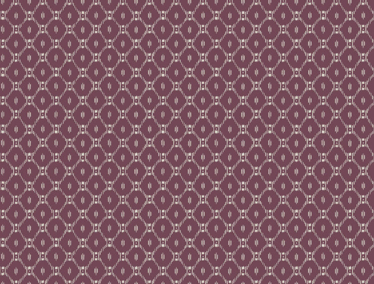 Ronald Redding Fretwork Wallpaper - Purple