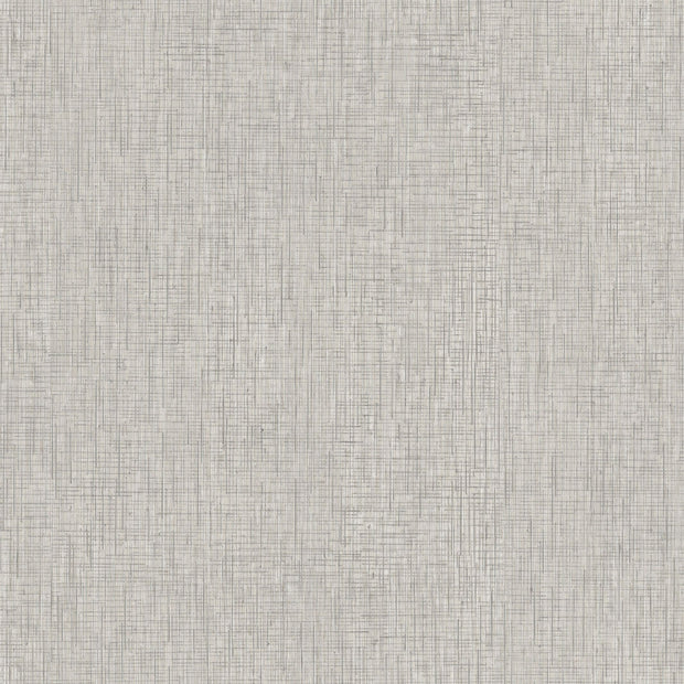 Ronald Redding Threaded Silk Wallpaper - Light Grey