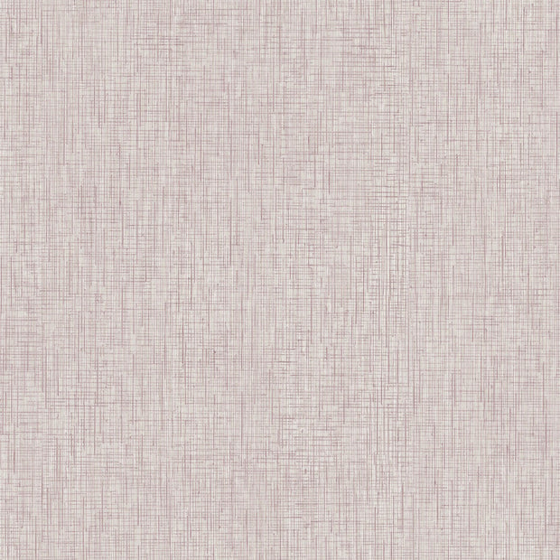 Ronald Redding Threaded Silk Wallpaper - Red