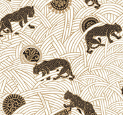 Ronald Redding Tibetan Tigers Wallpaper - Black & Gold