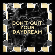 AVE10352 Don't Quit Your Daydream Shadowbox Black Gold