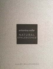 Antonina Vella Opalescent Stria Wallpaper - Warm Neutral