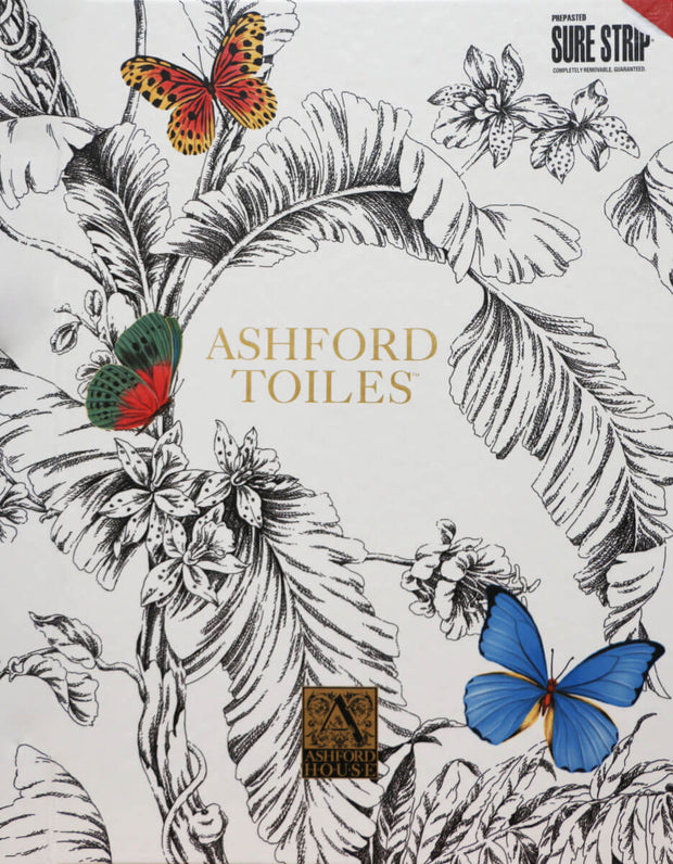 Ashford Toiles Dogs Life Wallpaper - Orange & Metallic Gold