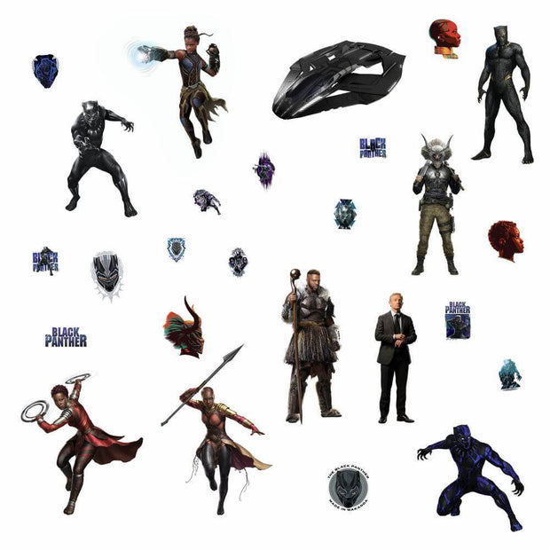 Black Panther Movie Characters Wall stickers