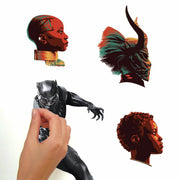 Black Panther Movie Characters Wall Decal