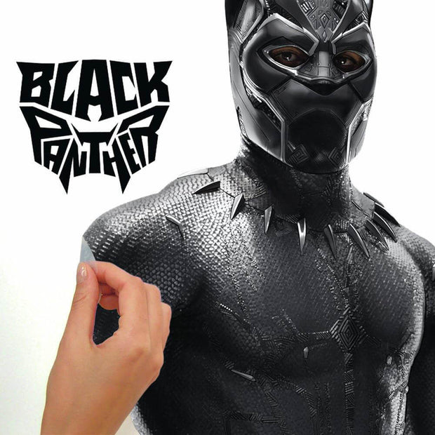 marvel black panther wall decal