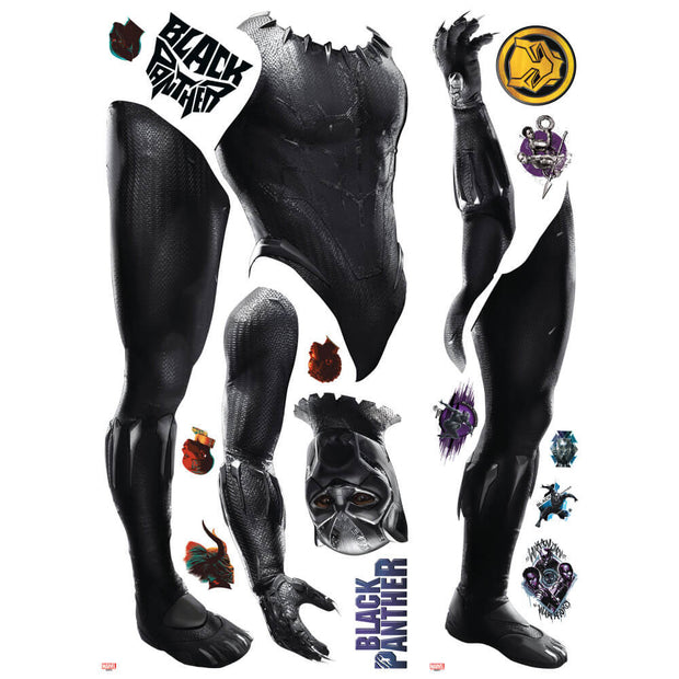 marvel black panther wall sticker