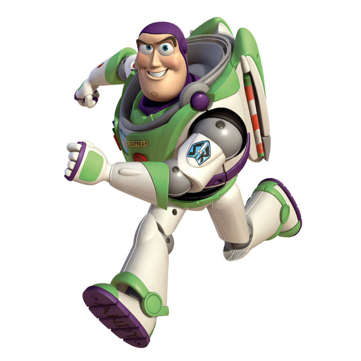 Toy Story Buzz Lightyear Glow in the Dark Wall Decal