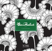 Florence Broadhurst Chinese Floral Wallpaper - Black/Green