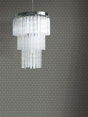 Antonina Vella Club Diamond Wallpaper - Black