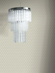 Club Diamond Wallpaper - Light Beige