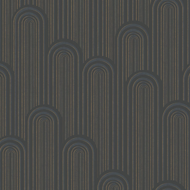 Antonina Vella Speakeasy Wallpaper - Black