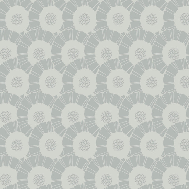 Coco Bloom Wallpaper - Grey