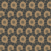 Coco Bloom Wallpaper - Black & Gold