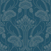 Nouveau Damask Wallpaper - SAMPLE ONLY